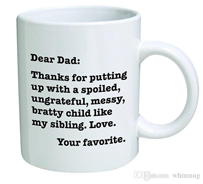 Un Favori Oz Inspirational Papa Merci Drôle Funny Tasse Cher Supporté Mugs Bratty 11 LoveVotre Enfant D'avoir tQoBshrxdC