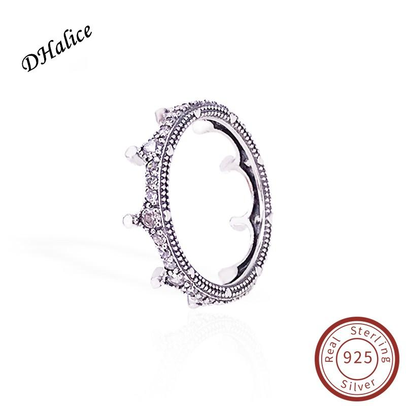 24f70476e 2019 Pandora Real 925 Sterling Silver Enchanted Crown Ring With Logo Style  Brand Jewelry For Women From Dhalice, $11.24 | DHgate.Com