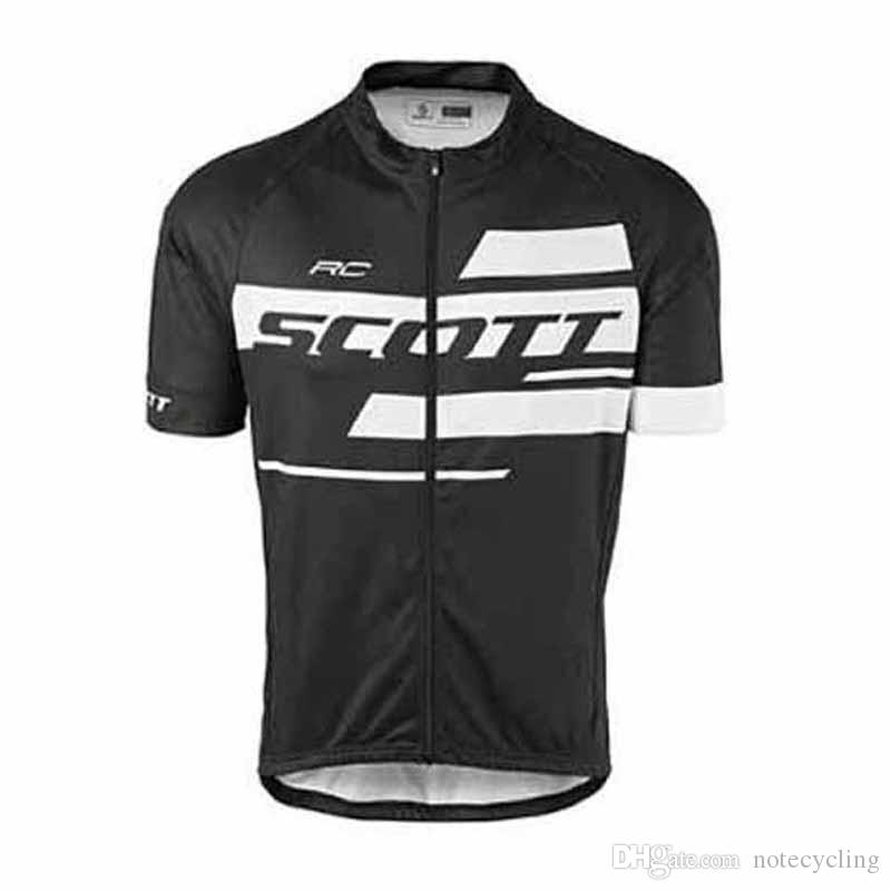 2018 Scott Cycling Jersey Ropa Ciclismo Breathable Bike Clothing Quick-Dry Bicycle Sportwear Maillot Ciclismo Bib shorts GEL Pad 60901X