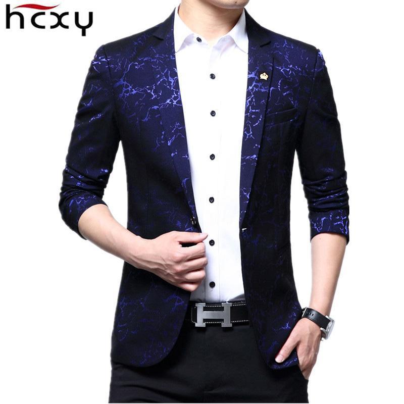 Trajes Compre De Blazer Para Hombre Tamaño 2018 Marca Informal Hcxy Chaqueta Nuevo Traje Chaquetas Boda Negocios Hombres rc4BrZq