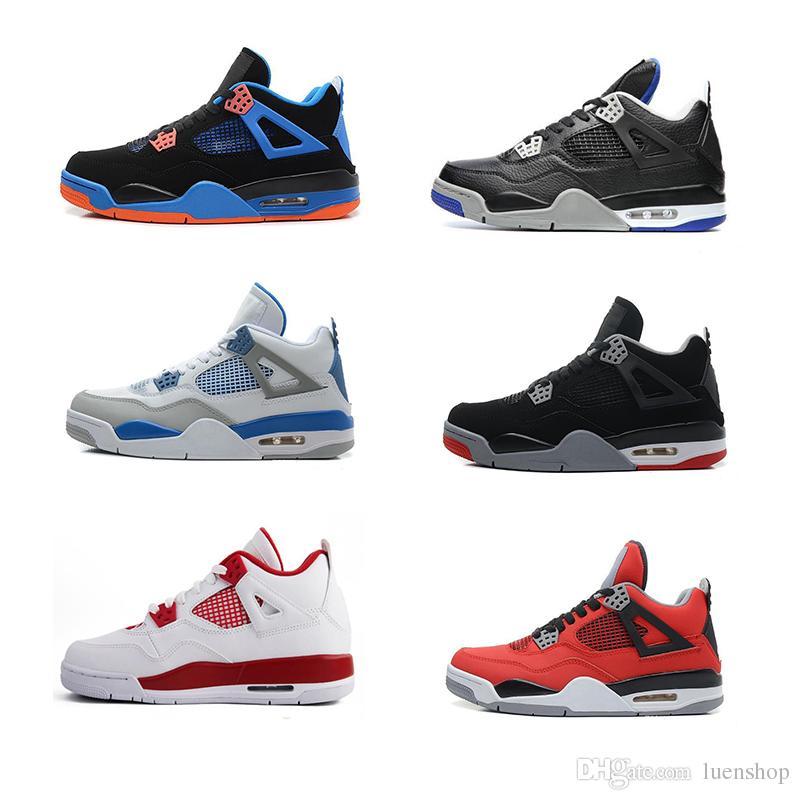online store 97625 c1e30 Compre NIKE Air Jordan El Más Barato 2018 4s Hombres Zapatos De Baloncesto  4s Cemento Blanco Negro Rojo 4 Superman Moda Zapatillas Hi Tops 40 47  Yardas ...