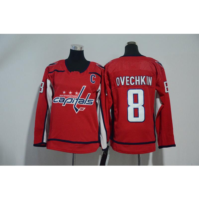 sports shoes d66b5 0c7df Mens Washington Capitals ALEX Alexander Ovechkin Home Away Hockey Jersey  All Player In