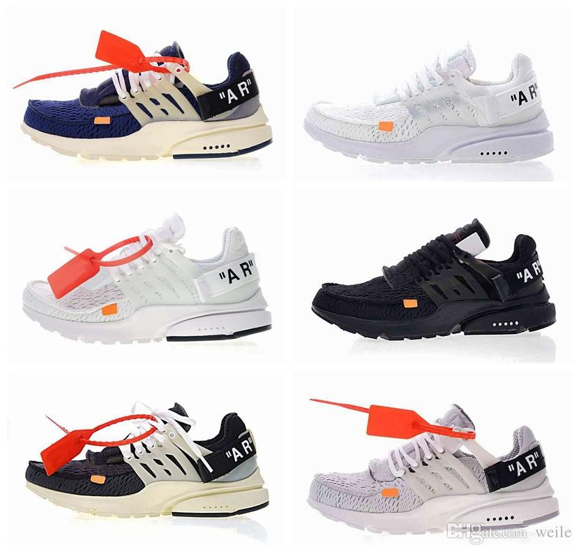 6505e315c0d3 2018 New Presto 2.0 X White Mens Designer Running Shoes for Men ...
