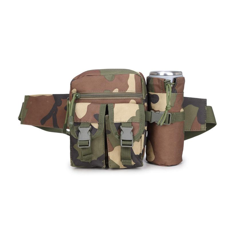 8defdbb2da Tactical Waist Bag Multifunction Army Fan Outdoor Hiking Package for ...