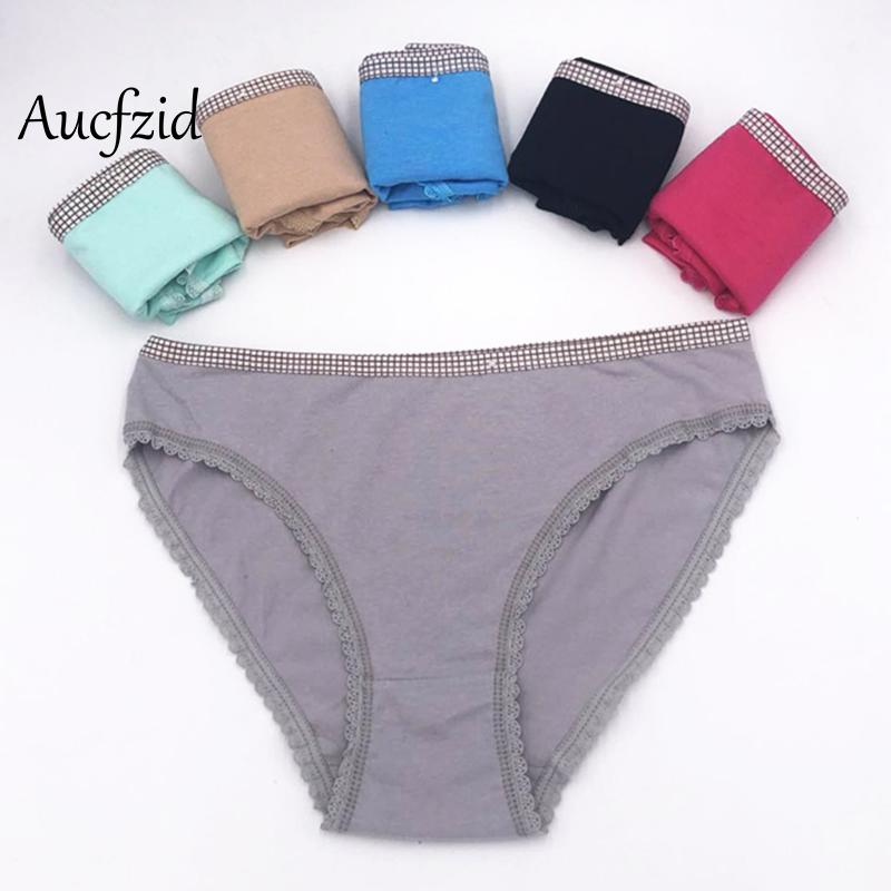 d3cbeea3b Aucfzid Sexy Cotton Underwear Women Stretch Panties Lace Seamless Female  Briefs Fashion Black Breathable Lingerie Online with  25.39 Piece on  Mingmusic002 s ...