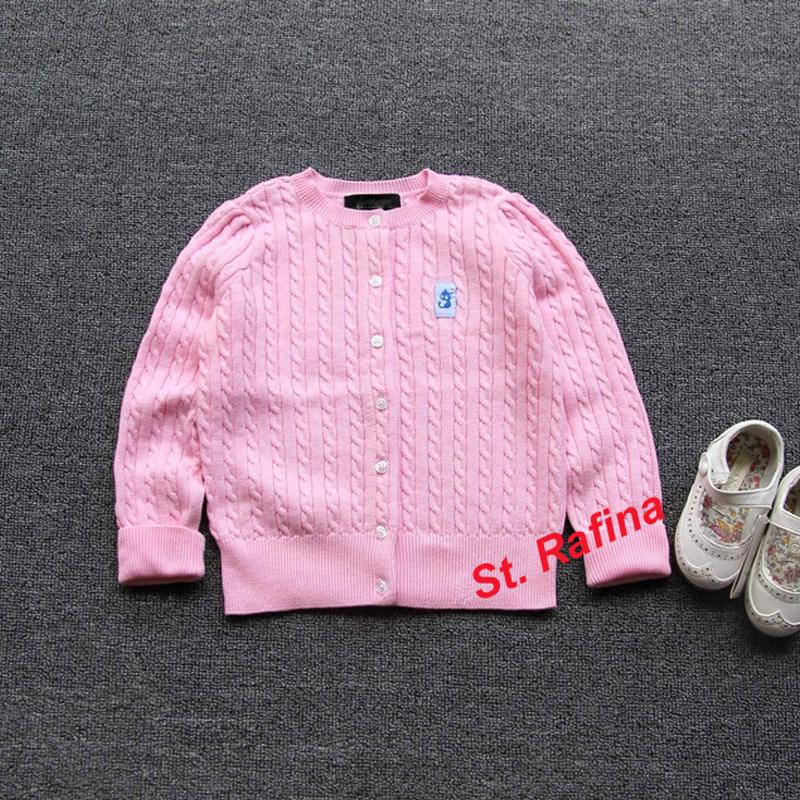 97ff6bf93 St.Rafina 2017 New Baby Children Clothing Girls Pink Knitted ...