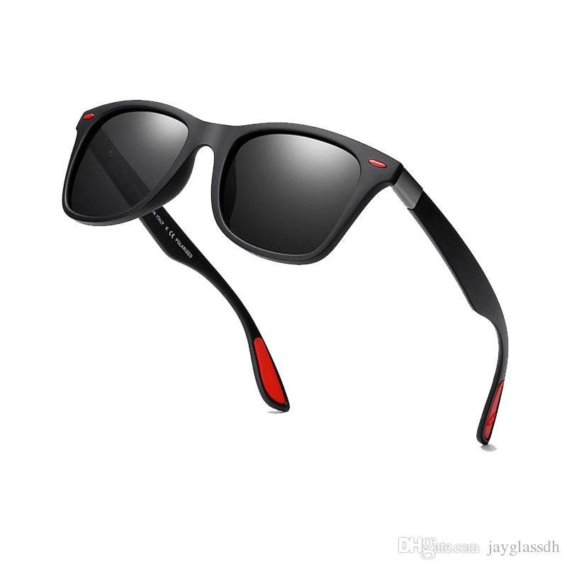 aede2abcee5dc 2018 Brand Design Classic Polarized Sunglasses Men Women Driving Square  Frame Sun Glasses Male Goggle UV400 Gafas De Sol Polarized Sunglasses  Sunglasses For ...