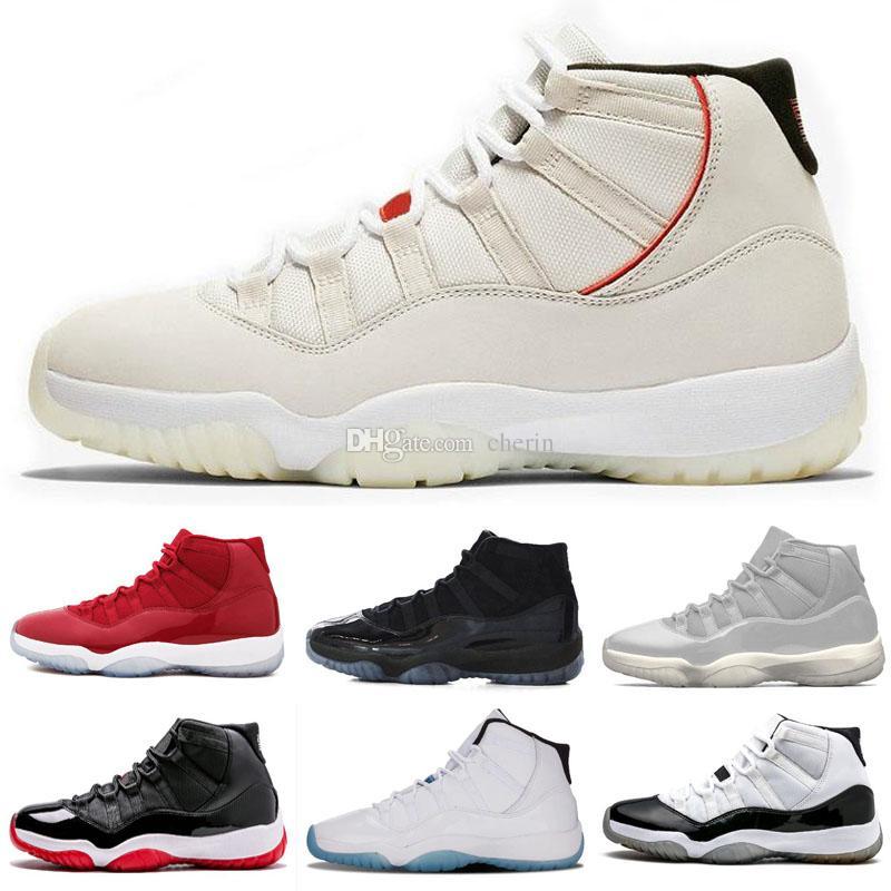 7304f23ec6b23b 11 Gym Red Platinum Tint Basketball Shoes Prom Night Concord Space ...