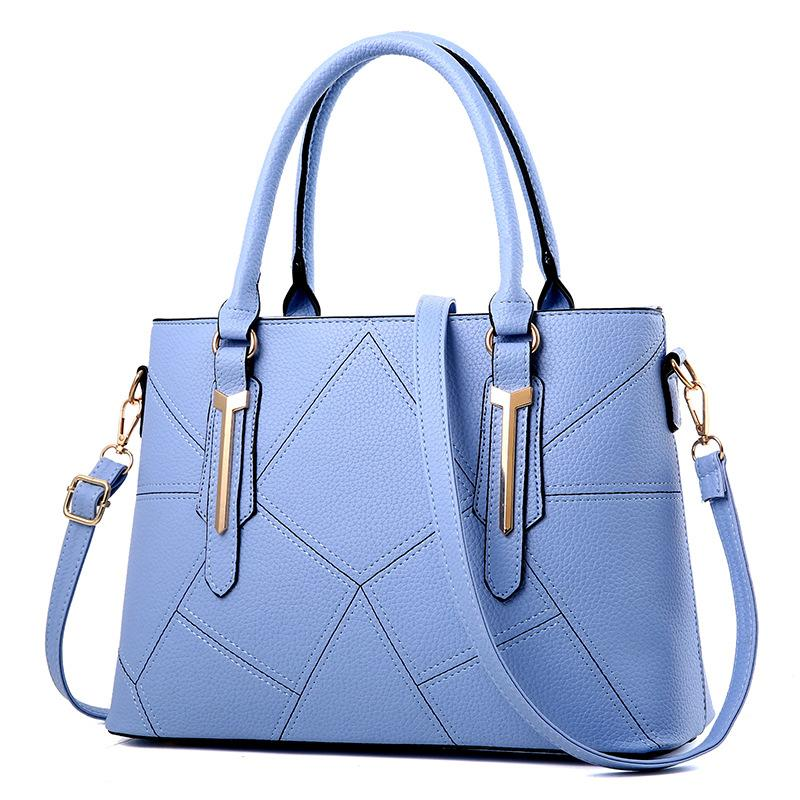 5cc425ffa4 Women Large Capacity Luxury Handbags PU Leather Shoulder Bag For Female  Famous Brands Ladies Bag Fashion Designer Handbag Wholesale Handbags Cheap  Handbags ...
