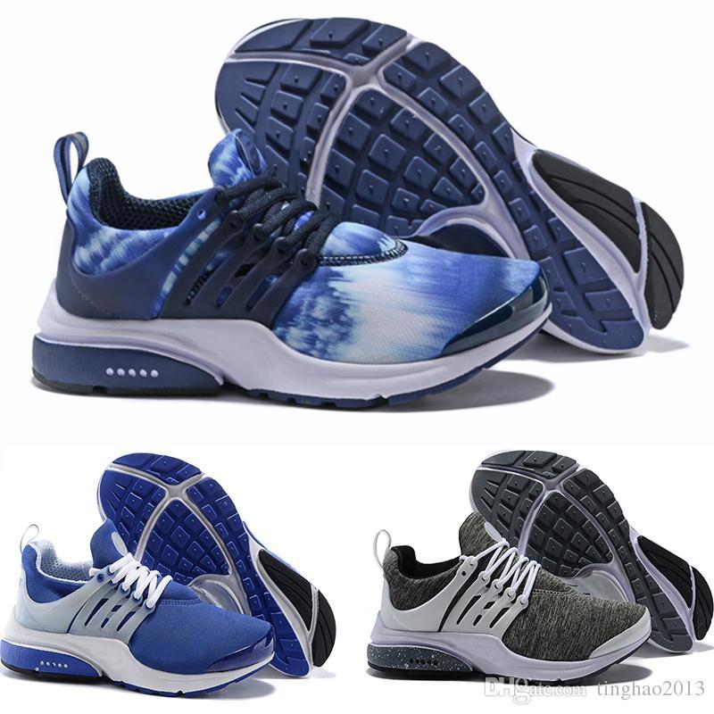 sports shoes 3a593 fd6ab Acheter Nike Air Presto Flyknit Ultra Nouvelles Chaussures De Course  Zapatos Presto Ultra Run Triple Noir Blanc Jaune Sock Dart Cheap Femmes  Hommes Sneakers ...