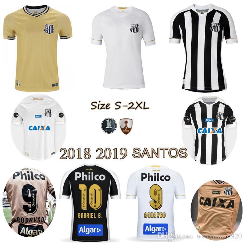 Compre 2018 2019 Santos FC Camisa De Futebol 18 19 Santos Em Casa De  Distância Gabriel RODRYGO DODO RENATO SASHA Camisas De Futebol De  Wenxuan 0920 534053600c8ac