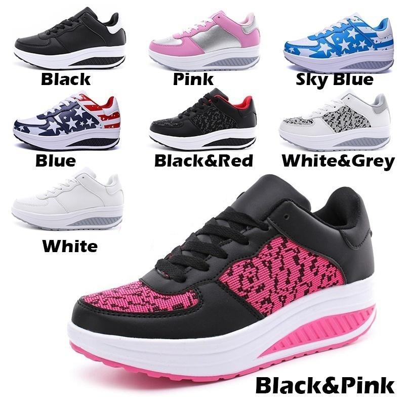 Chaussures Sneakers Cuir Sport Respirant Femmes Shake Et En gxfqdX