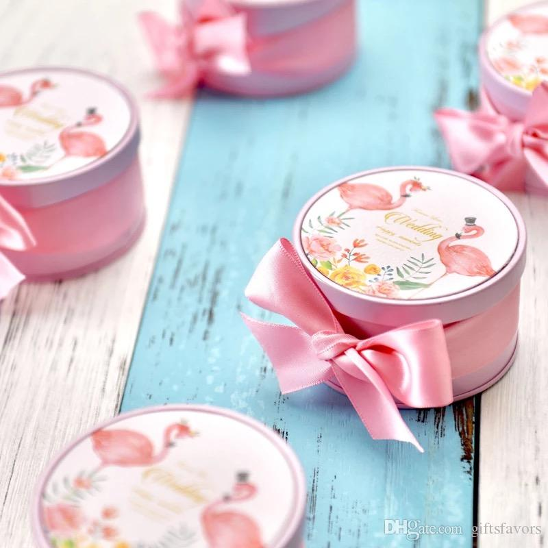 Tin Boxes Wholesale Tins Favor Holders For Wedding Candy Chocolate
