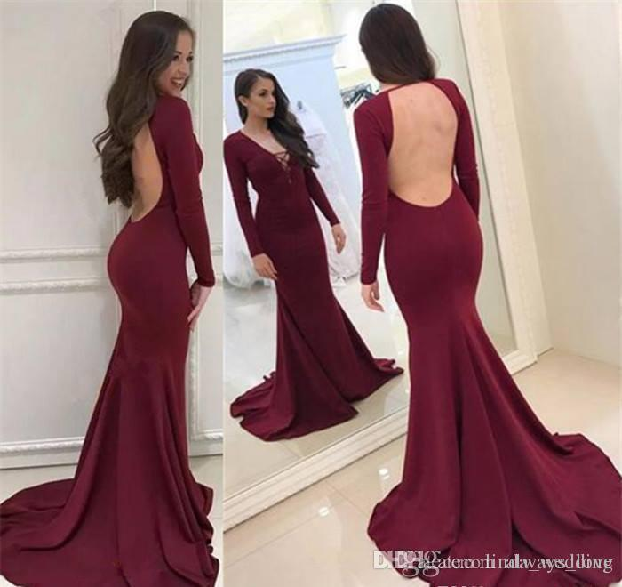fe10bbe1b4 New Arrival Dark Red Prom Dress Hot Sale Mermaid Long Formal Holidays Wear  Graduation Evening Party Gown Custom Made Plus Size Buy Prom Dresses Online  ...