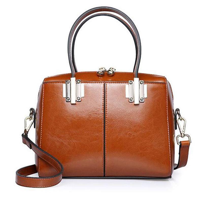 Yirenfang Women Messenger Bags 2018 Fashion 100% Real Leather Luxury ... 1bf7d34e49758