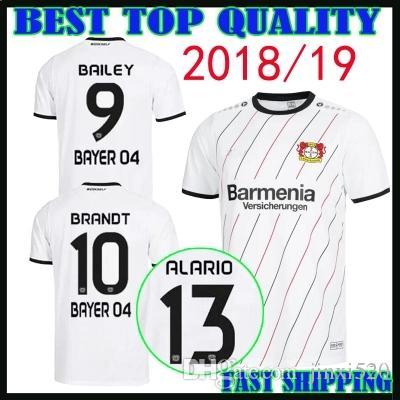 Compre New Adult 18 19 Bayer Leverkusen Camisa De Futebol Em Casa 2018 2019  Leon Bailey Julian Brandt Lucas Alario Kevin Volland Longe Camisa De  Futebol ... c9a0f4f6b59