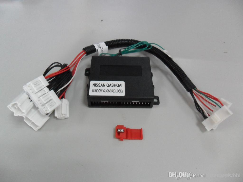 Car security power window kit for 4 windows roll up closer module  automatically closed for N-I-S-S-A-N Qashqai 08-13