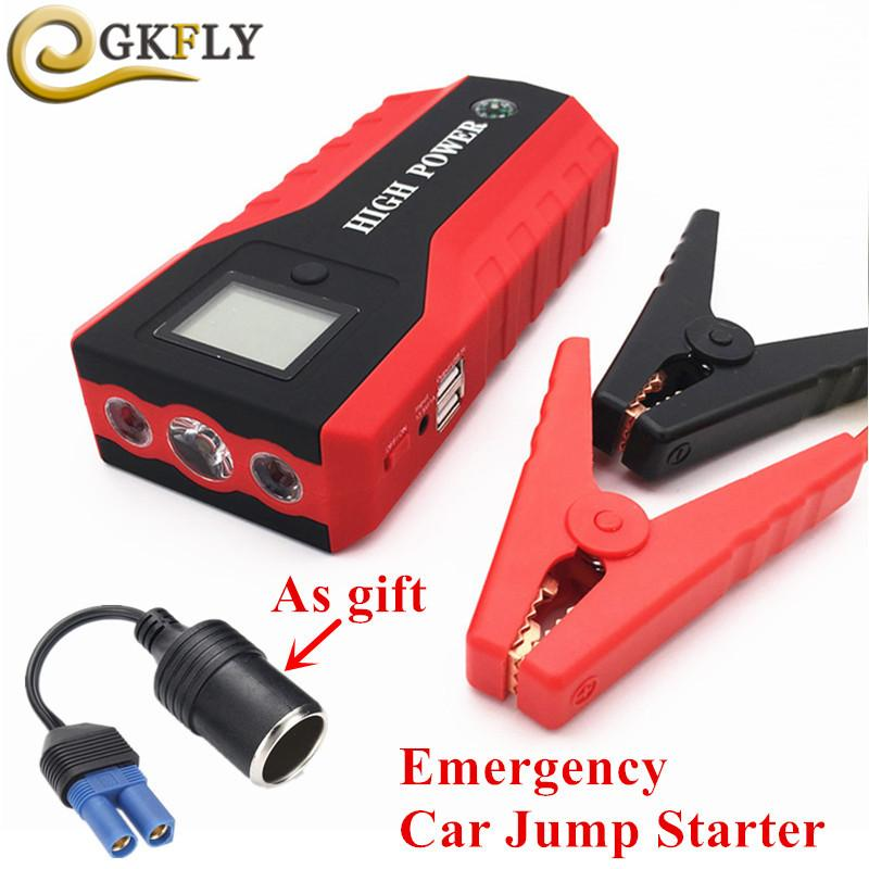 High Capacity Car Jump Starter Power Bank 12V 600A Portable Starting Device Petrol Diesel Car Charger For Car Baery CE