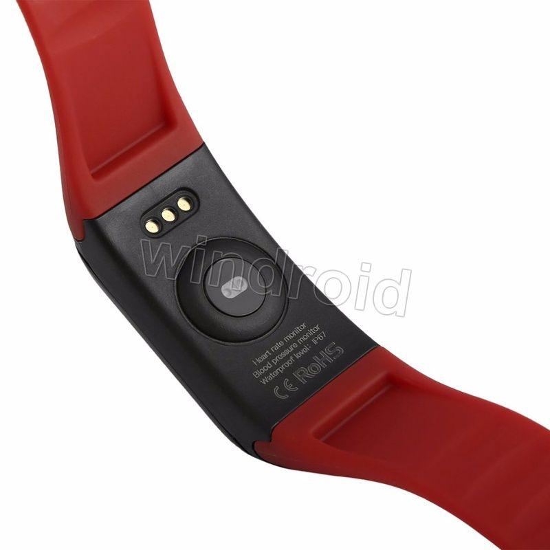 Orologio astuto della vigilanza di ossigeno di pressione sanguigna della vigilanza astuta Inseguitore astuto del braccialetto di frequenza cardiaca del cardiofrequenzimetro di attività di inseguitore di attività fisica della fascia astuta DHL