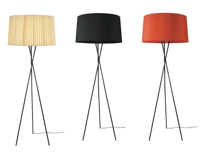 Standing Lamps For Living Room Floor Lamp Kids Long Floor Stand Lamp Chrome  Cloth Fabric Loft Modern Lights E27 110 240V UK 2019 From Callaway, ...