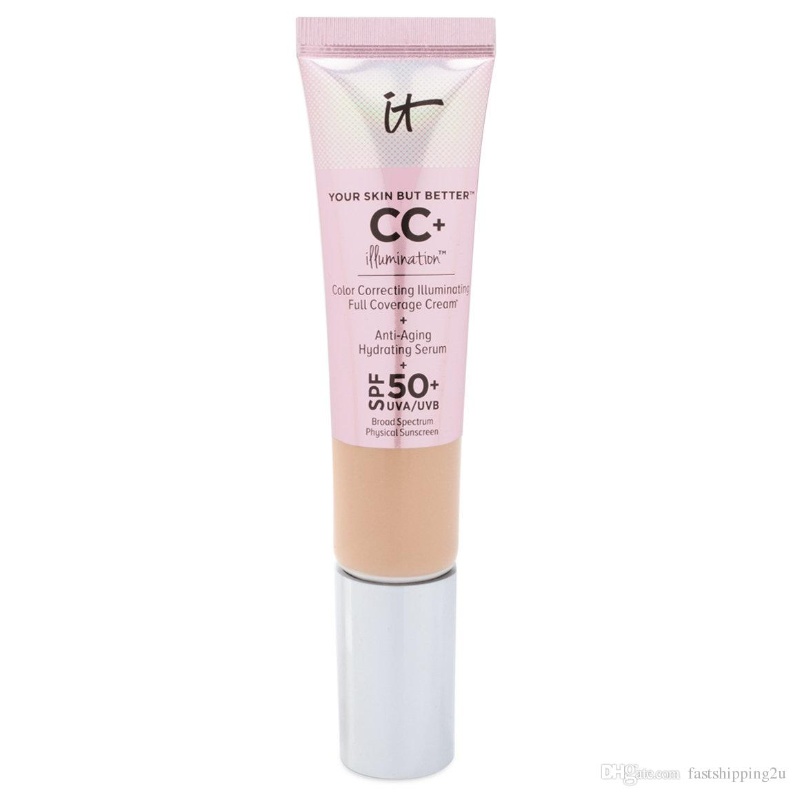 NEW makeup brand it cosmetics CC Light /Medium under eye Full Coverage Waterproof Concealer foundation primer