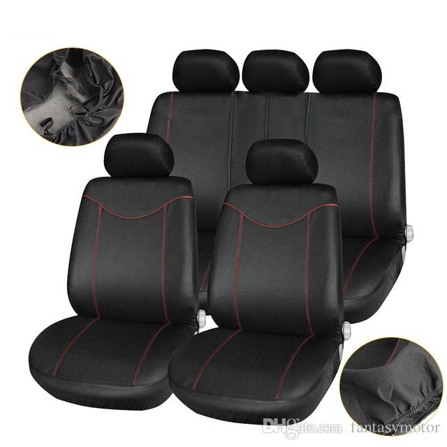 Universal Car Seat Cover Front Rear Chair Headrest Protector Mesh Cloth Auto Cushion Automobiles Accessories 7 Days Delivered Infant Replacement