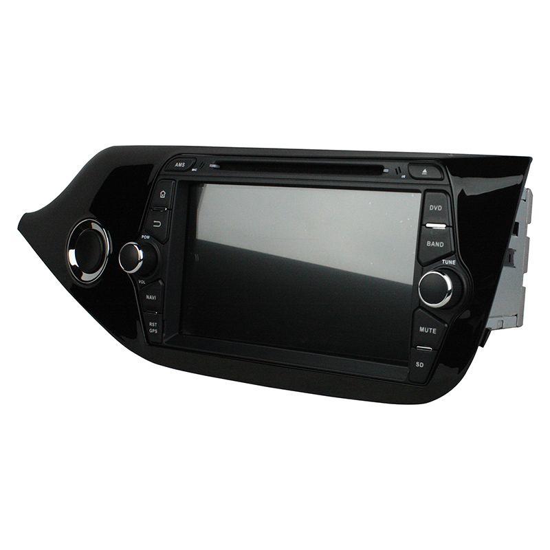 Reproductor de DVD del coche para Kia CEED 2014 8 pulgadas Octa-core 2GB RAM Andriod 6.0 con GPS, control del volante, Bluetooth, radio