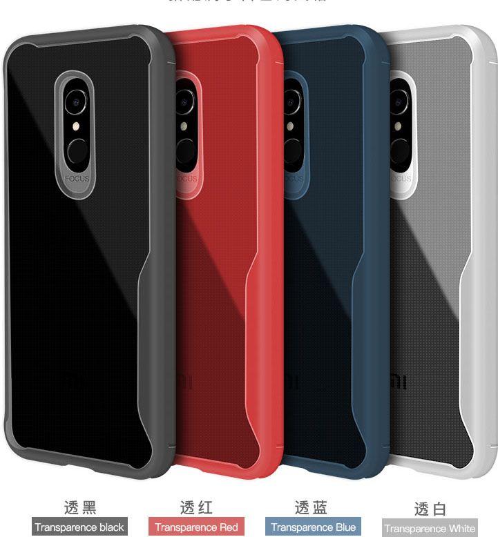 Newest Cases for Xiaomi Redmi 5 Plus Redmi Note 4 4X Case Cover Transparent Soft TPU Cover For Xiomi Redmi 4X 5X 4A 5A