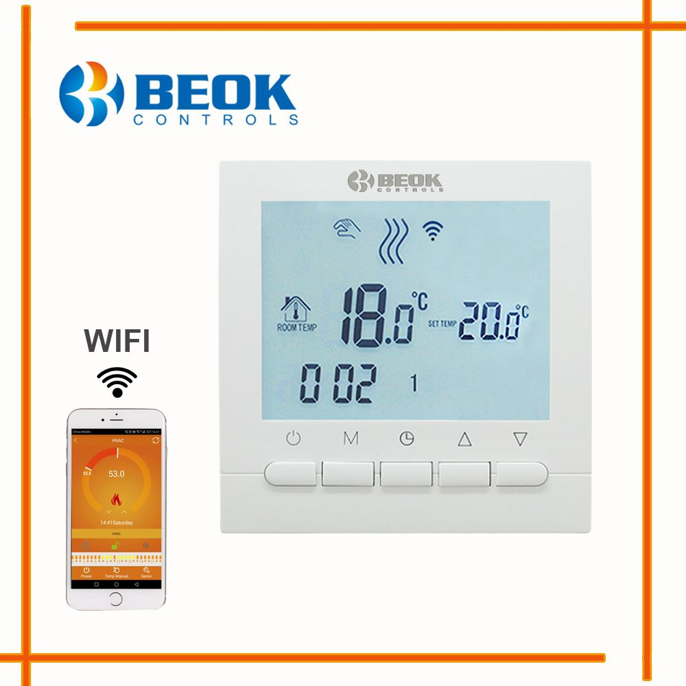 BEOK Programmable Gas Boiler Heating Temperature Regulator APP ...