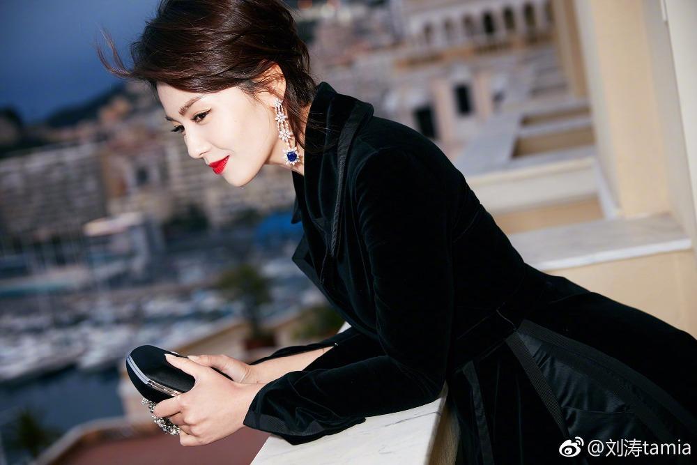 HAMALIEL Autunno Donna Trench Coat 2018 Designer Black Velvet XL Lungo Turn Down Collar Elegante Slim manica lunga Outwerwear