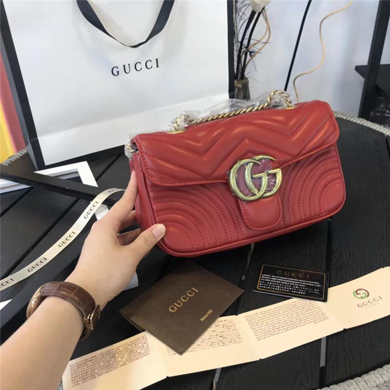 28fc284b059 Hot Marmont Shoulder Bags Women Luxury Chain Crossbody Bag Handbags Famous Designer  Shoulder Bag High Quality Female Message Bag Men Bags Handbag Wholesale ...