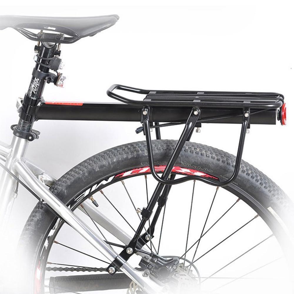 dd1fd29db Satın Al Bisiklet Bagaj Taşıyıcı Alüminyum Alaşım Bisiklet Arka Raf  Dayanıklı Bisiklet Seatpost Çanta Tutucu Dağ Bisikleti Raf