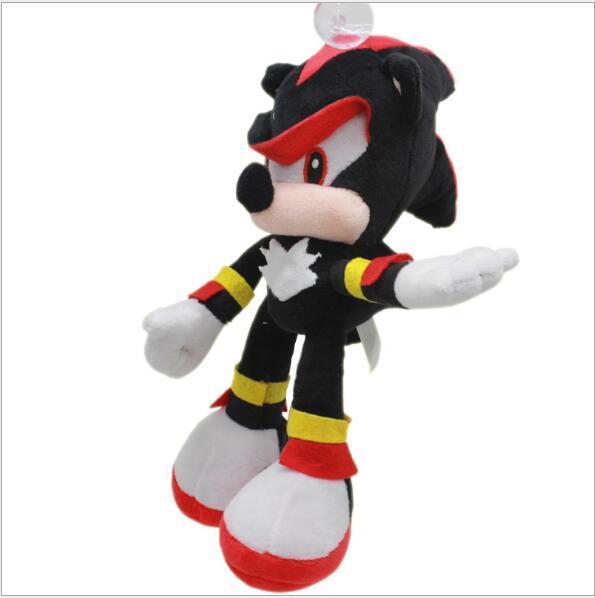Large wholesale-30cm black hedgehog plush doll toy sonic hedgehog plush doll plush toy Cartoon character