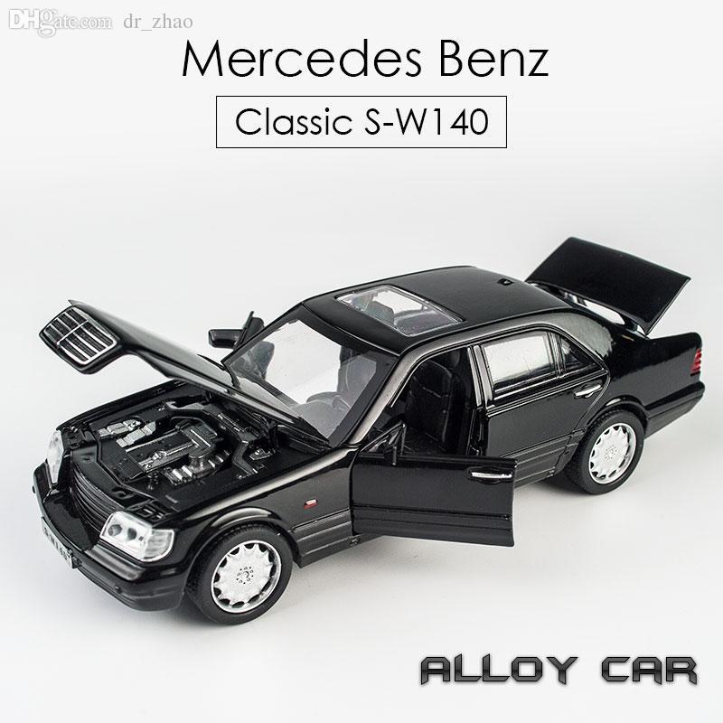 2019 Mercedes Benz Alloy Car Model S W140 Tiger Head Children S Toy