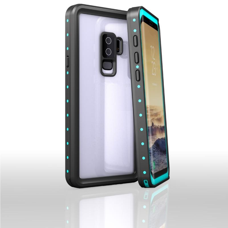 best sneakers 1e441 e1f6d Redpepper For Galaxy S9 Plus Waterproof Case IP68 Life Water Shock Dirt  Snow Proof Protection for Samsung Galaxy S9 Dot Series Cases