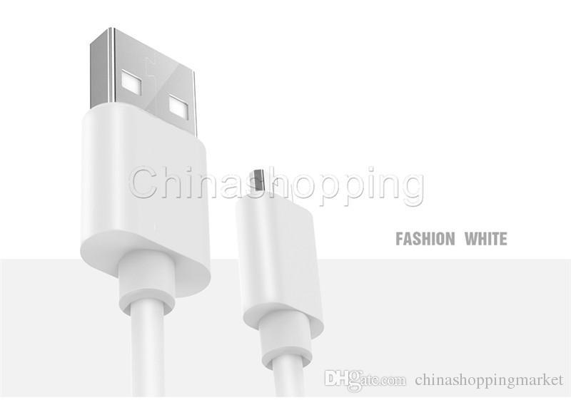 شحن سريع مايكرو USB كيبل 2A مزامنة بيانات 1M 2M 3M 0.25M 0.5M 1.5M كابل USB لسامسونج S10 S20 الترا بلس
