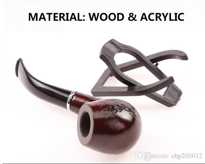 Consigliato sharpstone hot legno solido tubo di ferro nero confezione regalo con espositore woodpipe 705