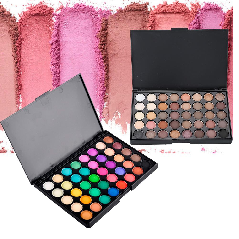 Just Matte Eye Shadow Pallete Make Up Earth Palette Makeup Glitter Waterproof Lasting Makeup Easy To Wear 40 Color Beauty & Health