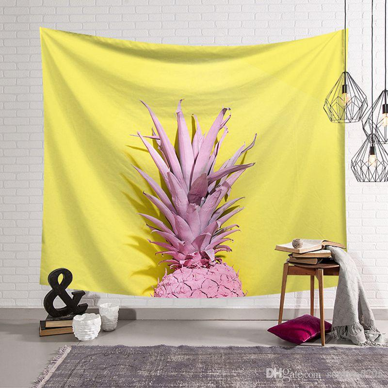 cactus decoracion tapestry dorm room farmhouse decor plant wall hanging fabric modern tenture mural vedspread carpet
