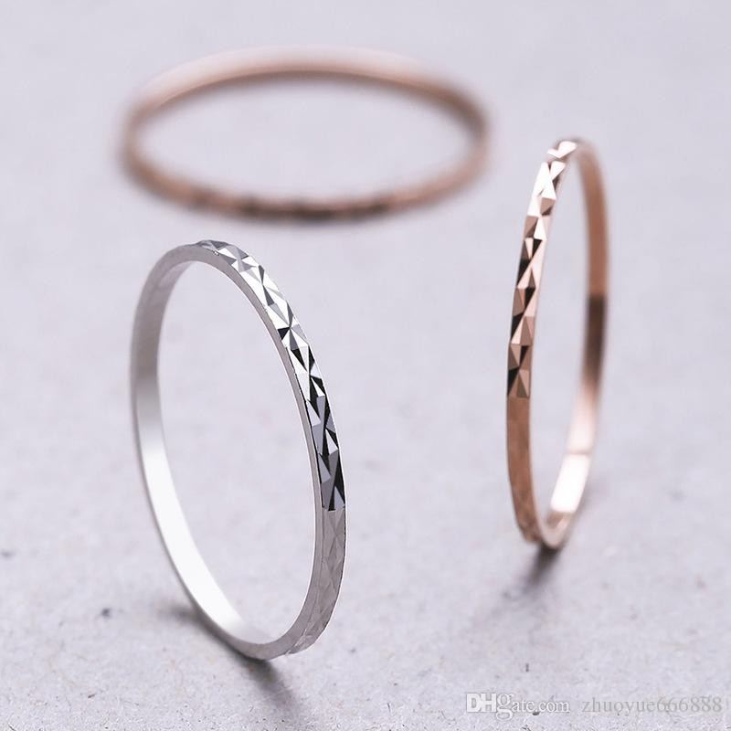 New S925 Sterling Silver Ring Simple Temperament Female Ring Japan