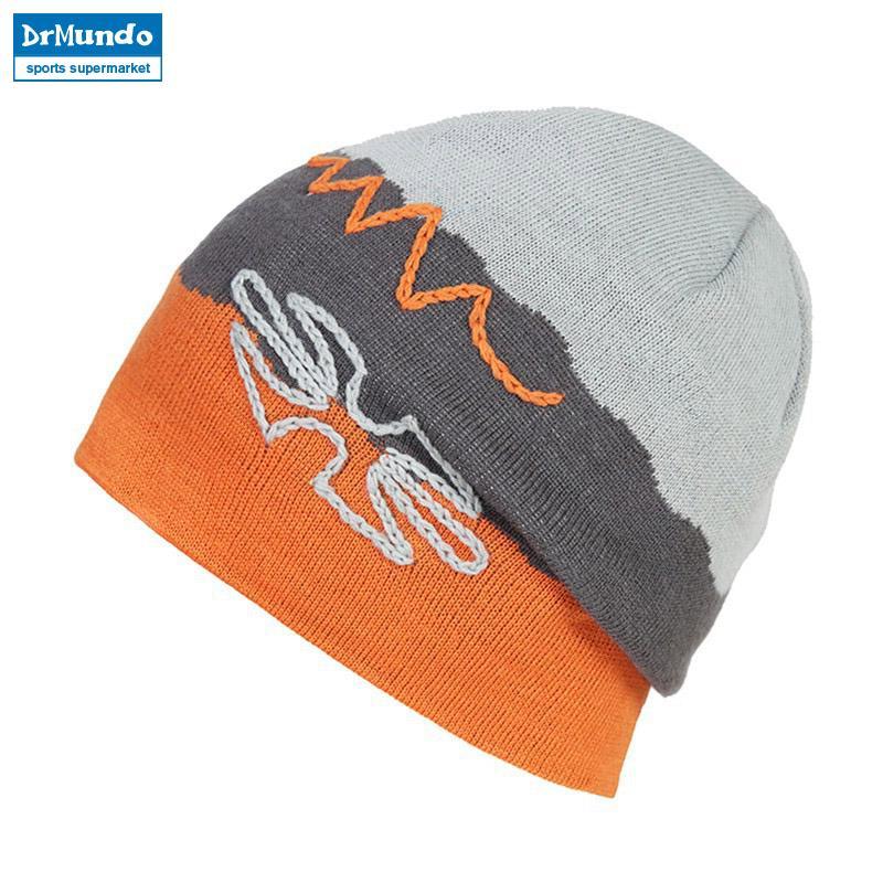 10c6590b 2018 New Double-sided Cap Winter Beanie Ski Hat Knit Winter Stripe ...