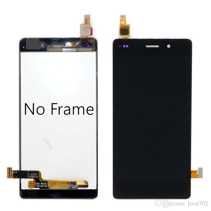 Huawei P8 Lite ЖК-дисплей Сенсорный экран Digitizer Узел с заменой рамки ALE-L04 ALE-L21 для 5,0