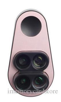 2018 Hot Double Kamera Weitwinkel-Makro Fisheye-Teleobjektiv Universalclip Quad-Mobiltelefon Spezialeffekte Kamera Fotoobjektiv