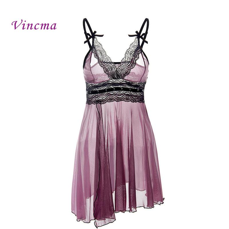 7902f58d66 XXL 3XL 4XL 5XL 6XL Plus Size Sexy Lingerie Hot Women Deep V Neck  Rhinestone Sleepwear Sex Dress Costume Babydoll Big Size D18110701 Womans  Pajamas Womens ...