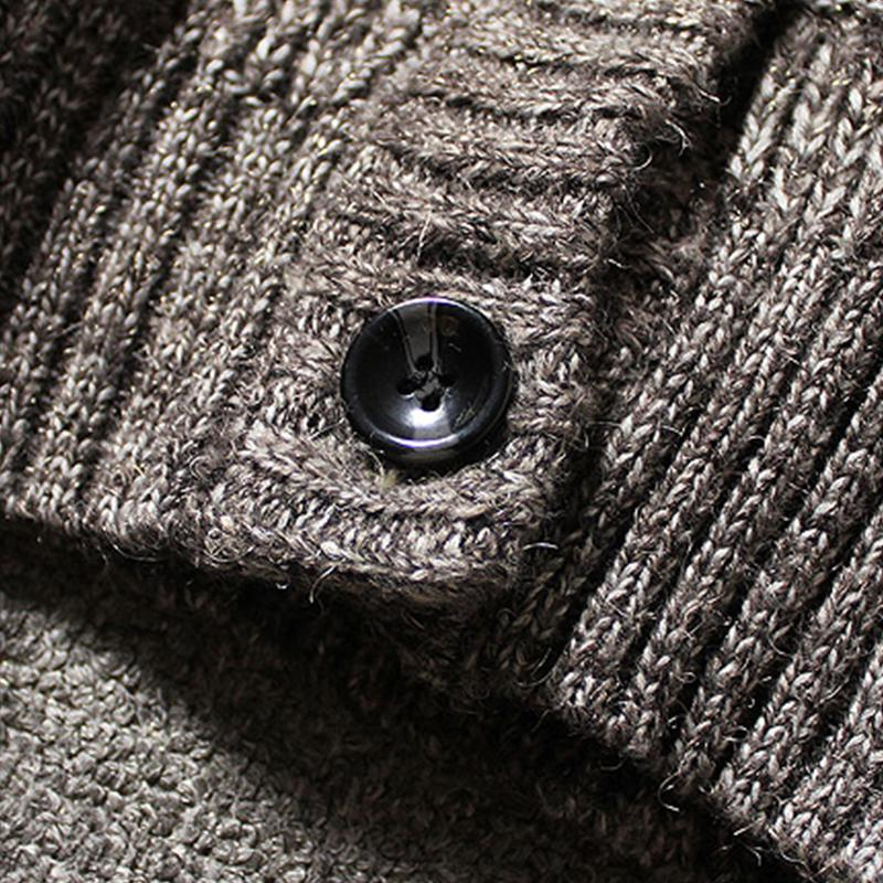 DIFF New Autumn Winter Fashion Men Casual Long Sleeve Men's Sweater Pullover Cardigan for man Sweater Men Pullover warm