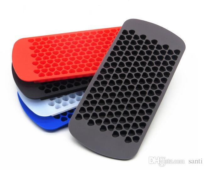 150 Mini Hearts Silicone Ice Cube Tray Small Ice Mold Maker Ice Form Silicone Chocolate Mold Jelly Mold Love Kitchen