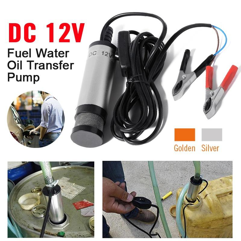 DHL 20PCS DC 12V Car Mini Water Oil Fuel Transfer Pump On/Off Switch  Submersible MA531