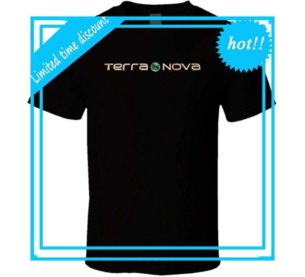 Cool Funny T Shirt High Quality Tees Terra Nova 2145 Dinosaurs Sci ...