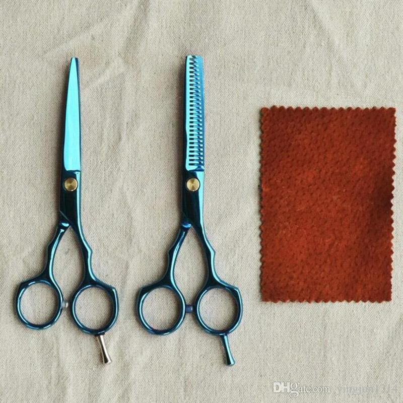 Haarscheren für den Heimgebrauch Berbar Haarscheren 5,5-Zoll-Haar schneiden Schere und Ausdünnung Scissor Set versandkostenfrei