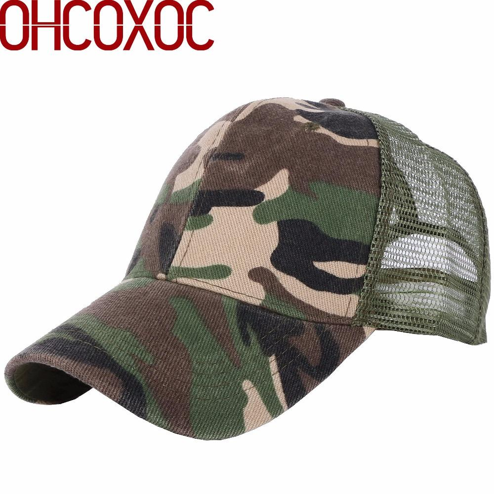 3675cf0ef2b Adult Unisex Summer Cap Sports Hat Camouflage Color Style Solid Outdoor  Adventure Active Baseball Caps Mesh Women Men Casquette Customized Hats  Custom Hat ...